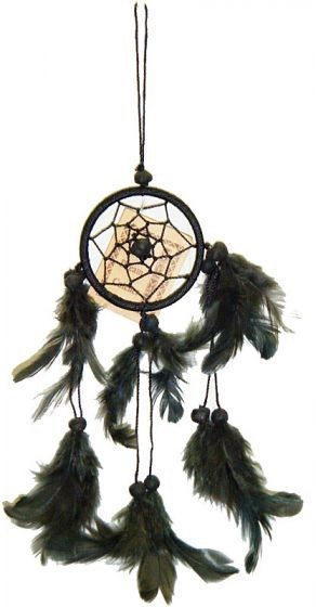 Black Mini Dream Catcher