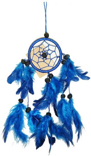 Blue Mini Dream Catcher
