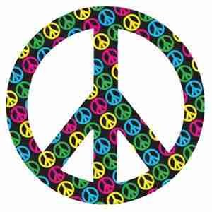 Peace on Peace Magnet