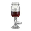 Red Neck Wine Glass