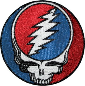 "Grateful Dead - Large Steal Your Face 5"" Patch"