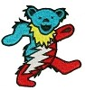 Grateful Dead - Dancing Bear Bolt Patch