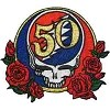 Grateful Dead -50th Anniversary Patch