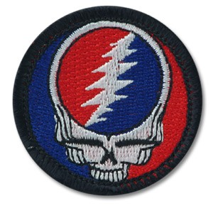 Grateful Dead - Classic Stealie SYF Patch