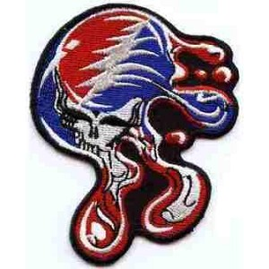 Grateful Dead - Large Melting SYF Patch