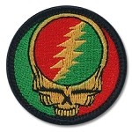 Grateful Dead - Rasta Stealie SYF Patch
