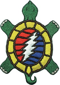 Grateful Dead - Terrapin Steal Your Face Patch