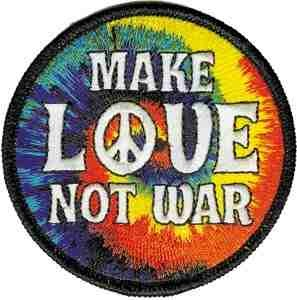 Make Love, Not War Patch