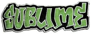 Sublime - Green Graffiti Patch