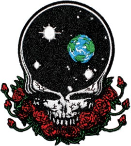 Grateful Dead - Large Space Your Face Patch