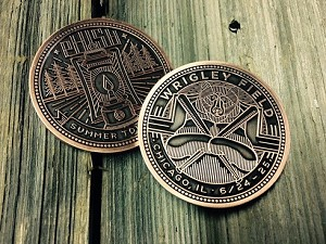 Phish - 2016 Chicago Wrigley Field Commemorative  Coin