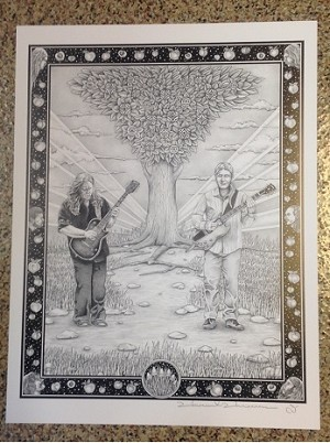Allman Brothers Family Poster Print