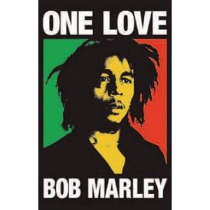 Bob Marley - One Love Blacklight Poster