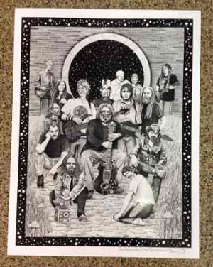 Grateful Dead - Family Poster Fan Art