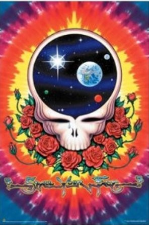 Grateful Dead - Space Your Face Poster