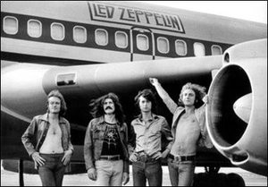 Led Zeppelin - Airplane Poster