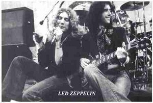 Led Zeppelin - Page & Plant Poster