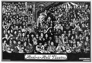 Rock - N - Roll Theatre Poster