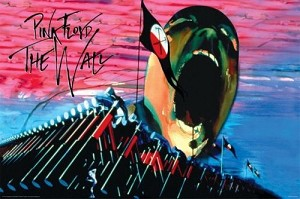 Pink Floyd - The Wall Hammers & Face Poster