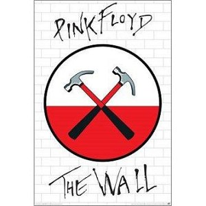 Pink Floyd - The Wall Logo Poster