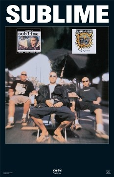 Sublime - Sitting Poster