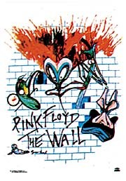 Pink Floyd - The Wall Textile Poster