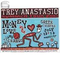 Trey Anastasio - Berkeley 2001 Tour Poster