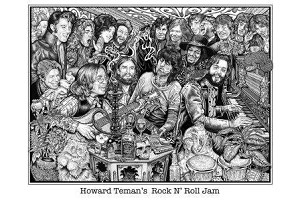 Rock and Roll Jam Poster