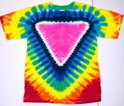 Pride Triangle Tie Dye Adult T-Shirt