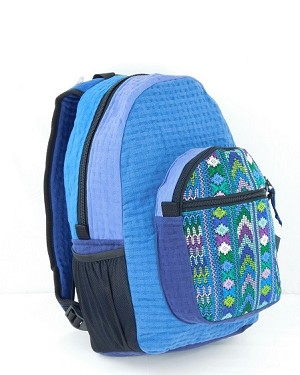 Brocade Cotton Weave Backpack
