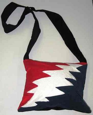 Grateful Dead - Lightning Bolt Bag / Purse