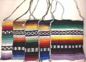 Mexican Tote Sack Bag
