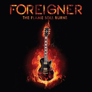 "Foreigner - The Flame Still Burns RSD Black Friday 10"" Vinyl Record"