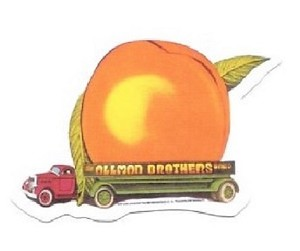 Allman Brothers Band - Eat A Peach Sticker