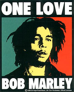Bob Marley - One Love Sticker