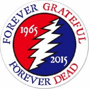 Grateful Dead - Forever Grateful Forever Dead Sticker