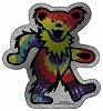 Grateful Dead - Glitter Dancing Bear Sticker