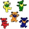 Grateful Dead - Mini Dancing Bear Stickers