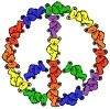 Grateful Dead - Peace Bears Sticker