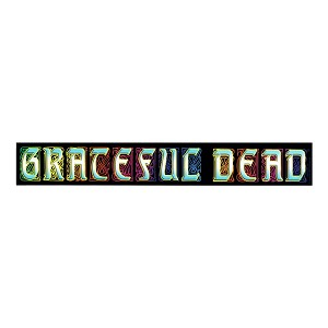 Grateful Dead - Stained Glass Sticker