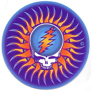 Grateful Dead - SYF  Sun Sticker