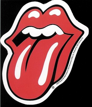 Rolling Stones - Red Tongue Sticker