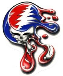 Grateful Dead Syf Melting Sticker
