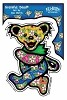 Grateful Dead - Tropical Dancing Bear Sticker