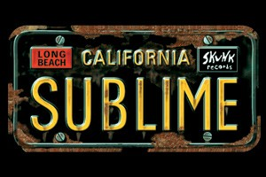 Sublime - License Plate Magnet