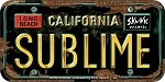 Sublime - License Plate Logo Patch