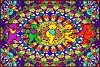 Grateful Dead - Psychedelic Dancing Bears Tapestry