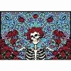 Grateful Dead - Bertha with Roses Tapestry
