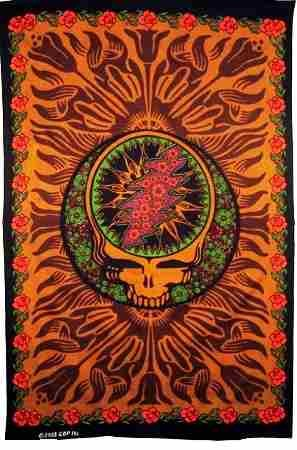 Grateful Dead - Brown SYF Tapestry