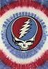 Grateful Dead - Mini SYF Red, White, and Blue Tapestry